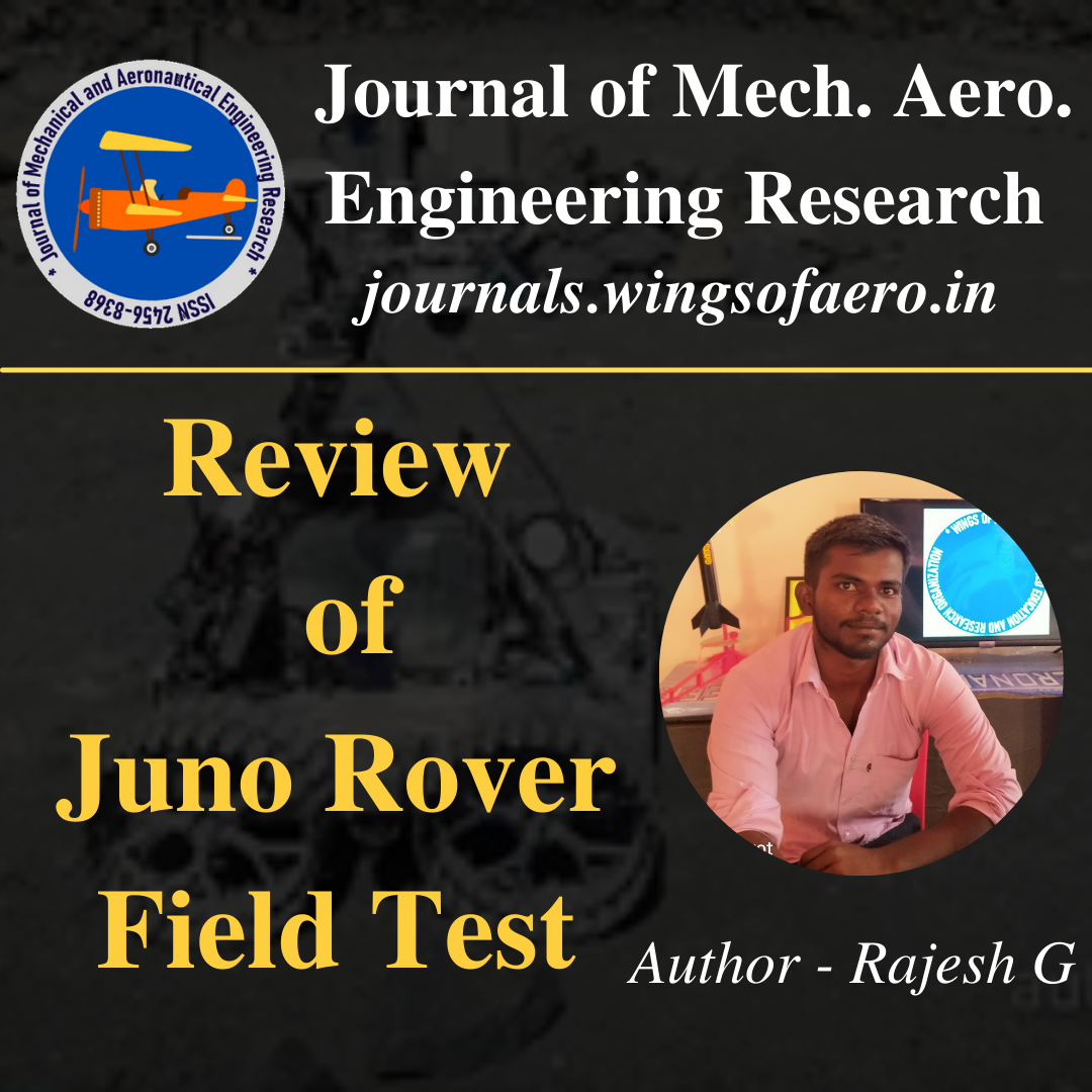 Juno Rover Field Test